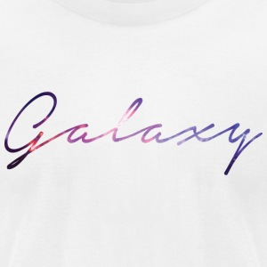 Galaxy - Men's T-Shirt by American Apparel