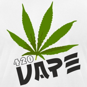 Vape 420 - Men's T-Shirt by American Apparel