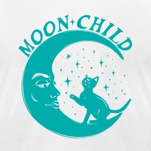 Moon Child Shirt for Yoga - Men's T-Shirt by American Apparel