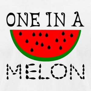 One In A Melon - Men's T-Shirt by American Apparel