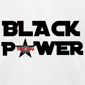 TBT360 BLACK POWER - Men's T-Shirt by American Apparel