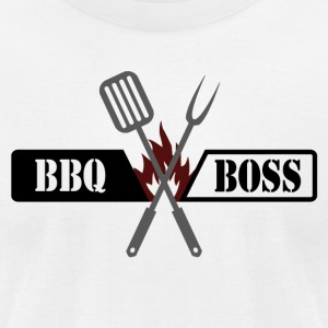 BBQ BOSS - Men's T-Shirt by American Apparel