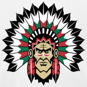 indians indian geronimo apache lakota - Men's T-Shirt by American Apparel