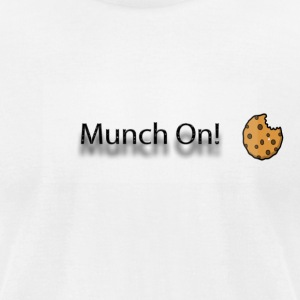 munch on - Men's T-Shirt by American Apparel