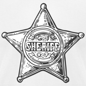 Sheriff - Men's T-Shirt by American Apparel
