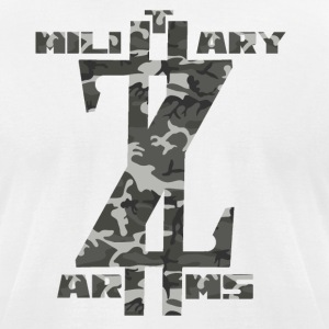 Military Arms - Men's T-Shirt by American Apparel