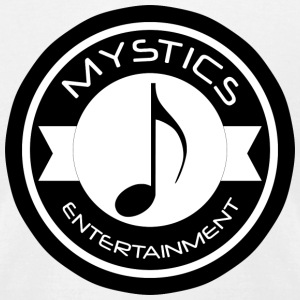 mystics_ent_black_logo - Men's T-Shirt by American Apparel