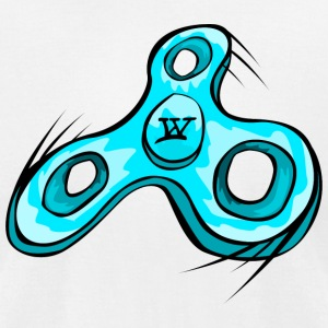Willow Clothing Fidget Spinner - Men's T-Shirt by American Apparel