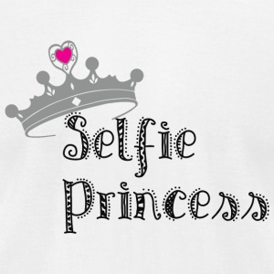 Selfie Princess - Selfie Princess - Men's T-Shirt by American Apparel