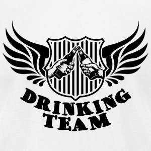 Drinking - Drinking Team - Men's T-Shirt by American Apparel