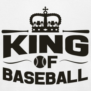 Baseball - King of baseball - Men's T-Shirt by American Apparel