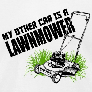 LAWNMOWER - MY OTHER CAR IS A LAWNMOWER - Men's T-Shirt by American Apparel