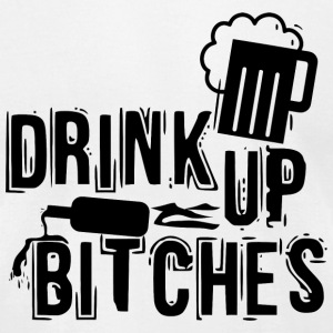 St patricks day - Drink up bitches - Men's T-Shirt by American Apparel