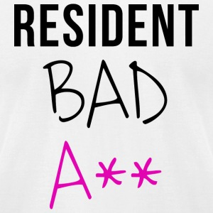 Resident - Resident Bad A** - Men's T-Shirt by American Apparel