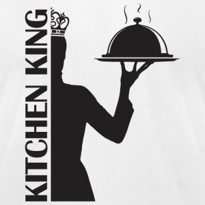 Kitchen King - Kitchen King - Men's T-Shirt by American Apparel