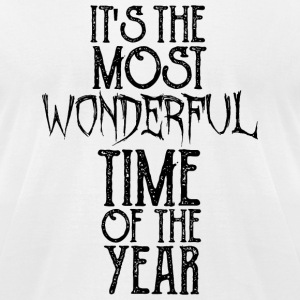 Halloween - It's The Most Wonderful Time Of The - Men's T-Shirt by American Apparel