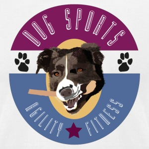 Dog Sports - Men's T-Shirt by American Apparel