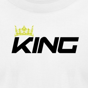 KING - Men's T-Shirt by American Apparel