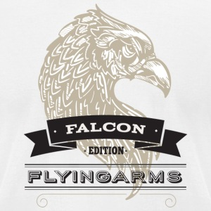 FlyingArms Falcon - Men's T-Shirt by American Apparel