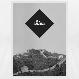 China - Men's T-Shirt by American Apparel