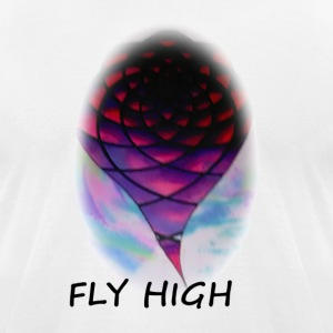 FLY HIGH - Men's T-Shirt by American Apparel