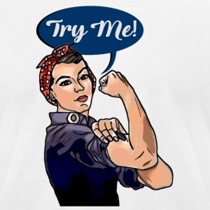 Try Me! - Men's T-Shirt by American Apparel