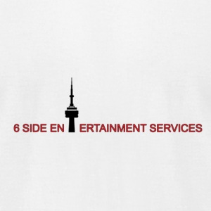 6 SIDE ENTERTAINMENT - Men's T-Shirt by American Apparel