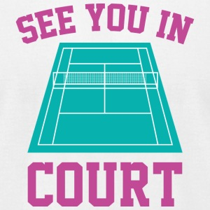See You In Court - Men's T-Shirt by American Apparel