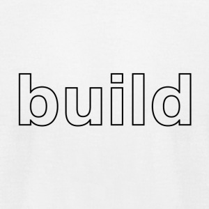 build logo - Men's T-Shirt by American Apparel