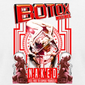 BOTOX MATINEE NAKED 2 T-SHIRT - Men's T-Shirt by American Apparel