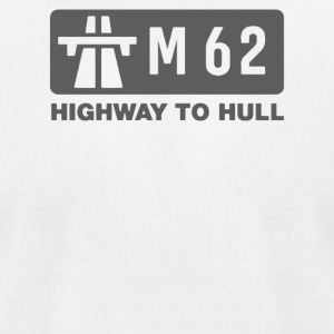 M62 Highway to Hull - Men's T-Shirt by American Apparel