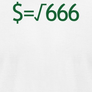 Money Is The Root Of All Evil - Men's T-Shirt by American Apparel