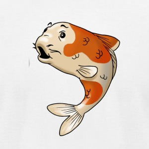 pisces fish goldfish koi - Men's T-Shirt by American Apparel