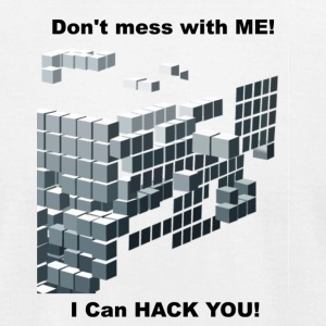 I can hack you - Men's T-Shirt by American Apparel
