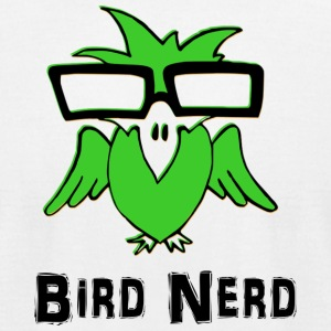Bird Nerd - Men's T-Shirt by American Apparel