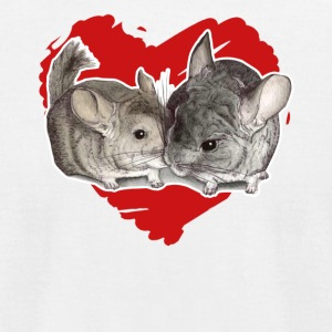 Chinchilla Love Tee Shirt - Men's T-Shirt by American Apparel