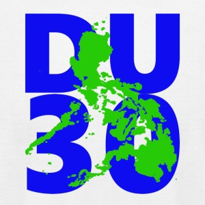DU30 philippines. President Duterte DU30 - Men's T-Shirt by American Apparel