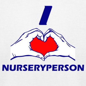 NURSERYPERSON DESIGN - Men's T-Shirt by American Apparel