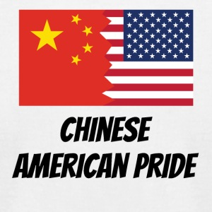 Chinese American Pride - Men's T-Shirt by American Apparel