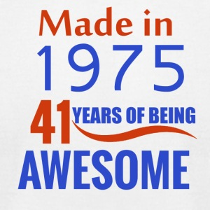 41st birthday design - Men's T-Shirt by American Apparel