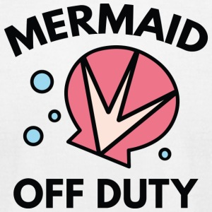 Mermaid Off Duty - Men's T-Shirt by American Apparel