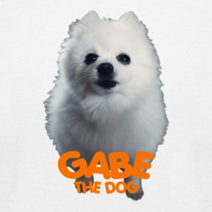 GABE THE DOG - Men's T-Shirt by American Apparel