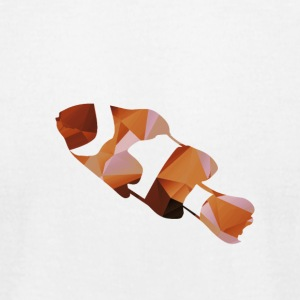 Polygon Kumanomi(Clown fish) - Men's T-Shirt by American Apparel