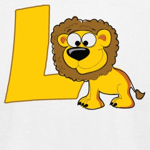 L Is For Lion - Men's T-Shirt by American Apparel