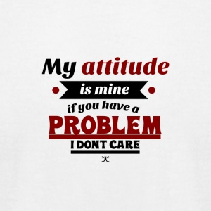 My Attitude - Men's T-Shirt by American Apparel