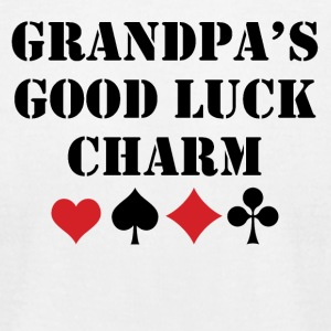 Grandpa's Good Luck Charm - Men's T-Shirt by American Apparel