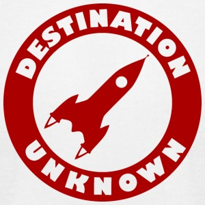 Destination Unknown - Men's T-Shirt by American Apparel
