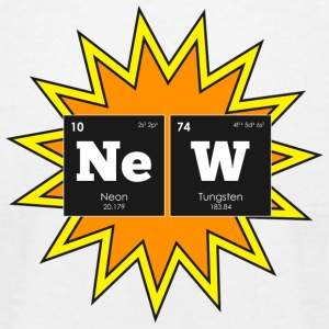 Periodic Elements: NeW - Men's T-Shirt by American Apparel