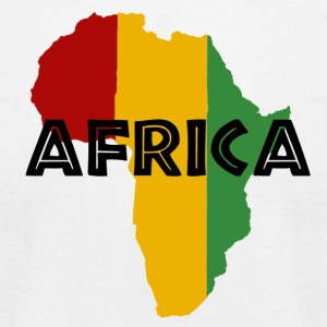 Africa Rasta - Men's T-Shirt by American Apparel