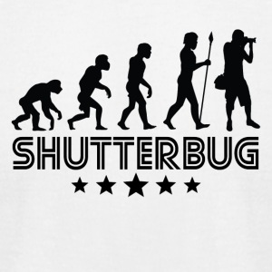 Retro Shutterbug Evolution - Men's T-Shirt by American Apparel
